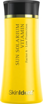 Sun Solarium Vitamin Factor 6 Low Protection